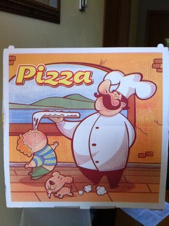 EH MARIO - eh wunna de pizza - tukkadaway Last night's pizza