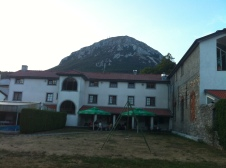 The hostel I am at in Razdrto SLOVENIA