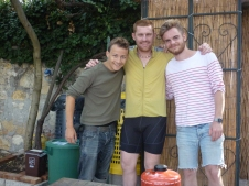 L to R - Ferit, Adrian, Thomas (From Pareeee)