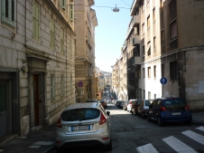 The uphill from Trieste - it started from the middle of town
