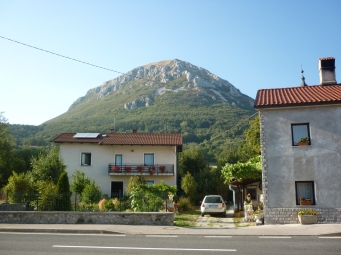 Mt Nanos from hostel
