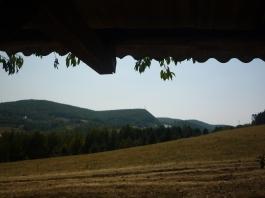 A run down hut near the bottom