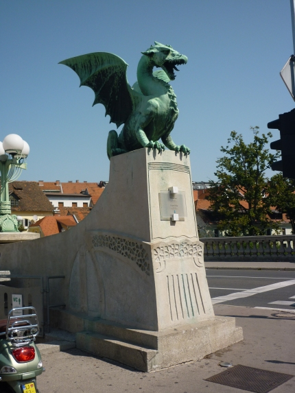 Centro Ljubljana - Dragons are the protectors of this city