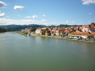 Maribor from main bridge