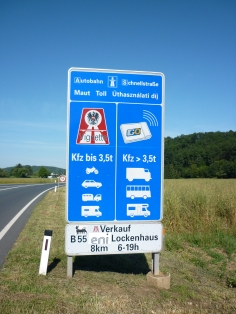 First sign in Austria