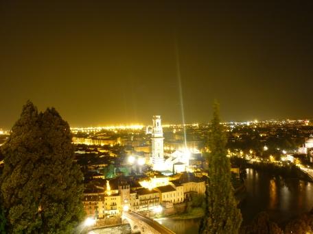 Verona - San Pietro Castel View