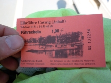 The Elbe Route - Ferry ticket