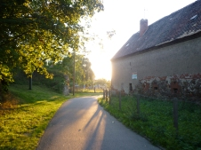 The Elbe Route - Approaching a little village
