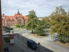 View from my hotel in Ostrava