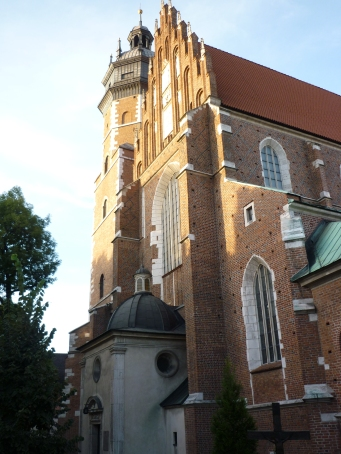 New part of Krakow
