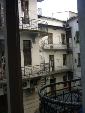 View from my Hostel - 5 Star baby