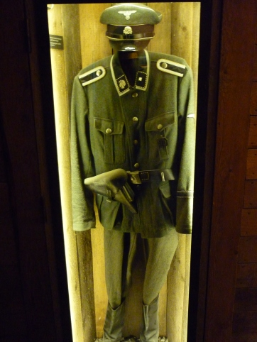 Actual Nazi uniform from officer working in Krakow at the time