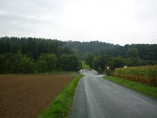 Along route today