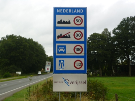 First sign in NL