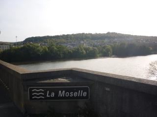 Moselle river near Charmes