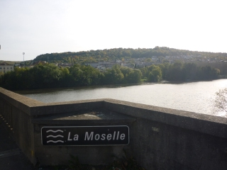 Moselle river near Charmes