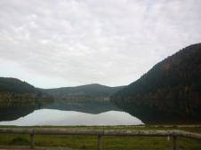 Waking up near Gerardmer