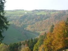 The views are amazing - Switzerland near Neuchatel and Tavannes
