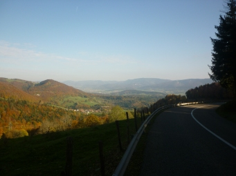 Climbs are well worth it - Switzerland near Neuchatel and Tavannes