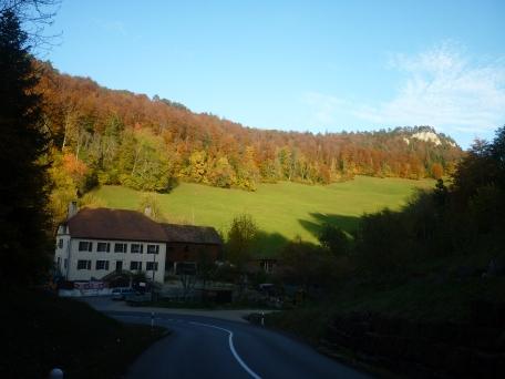 Switzerland near Neuchatel and Tavannes