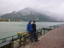 The boys in Annecy