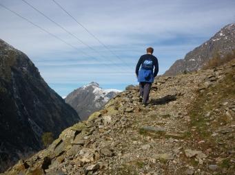 Climbing in Sain Christophe-en-Oisans (Peyssa Summit) 2042mtrs