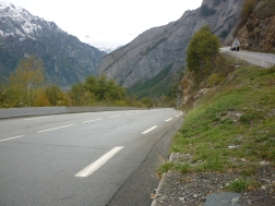Fast incline - riding Alpe d'Huez