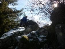Hard climbing - 2nd Hike to Lac du Lauvitel (La Danchere)
