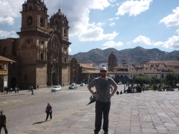 Main square in Cusco