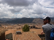Looking over Cusco