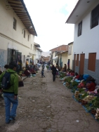 Side alleys of Cusco