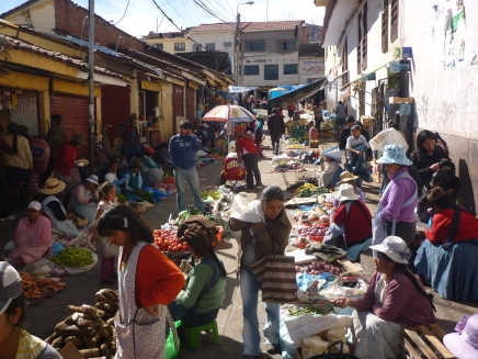 Street markets for the locals