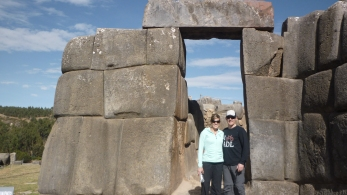 Sacsayhuaman - (An old fortress on top of hill very well known for being one of the best constructions in American History - Dates back at least a millennium) - Sacred Valley