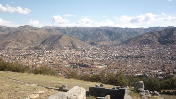 View of Cusco from SacsayHuaman (A fortress on top of hill very well known for being one of the best constructions in American History) - Sacred Valley