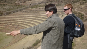 Pisac - Large area for cultivation and burials in the mountains - looks WAY bigger in real life - Sacred Valley