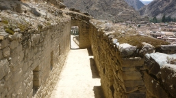 Ollantaytumbo - home of the chief of the army of the Incas