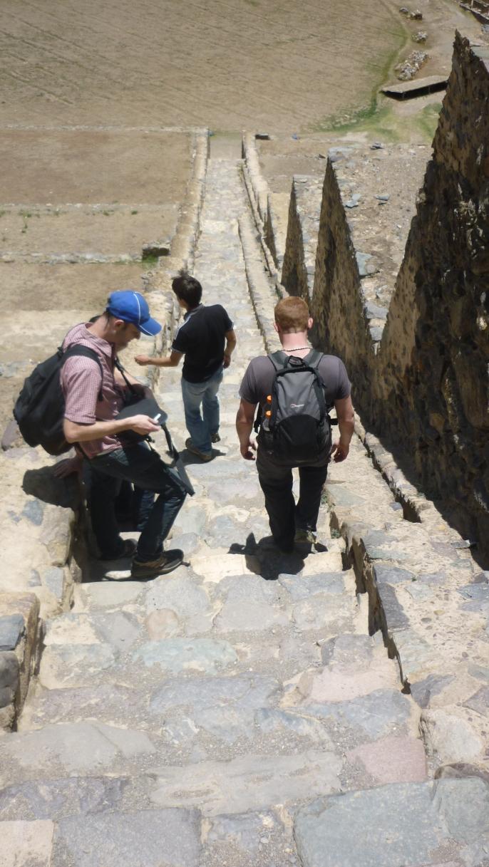 Leaving Sacsayhuaman - Sacred Valley