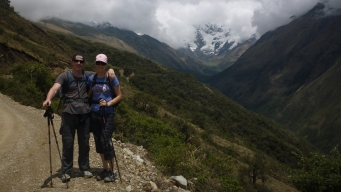 Picturesque views on Salkantay Trek