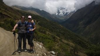 Picturesque views on Salkantay Trek