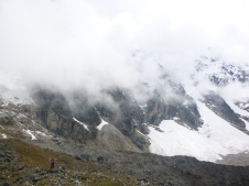 on Salkantay Mountain