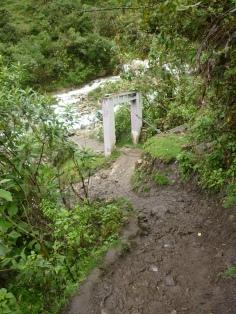 Some of the terrain on Salkantay Trek