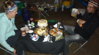 Amancio baked us a CAKE!!! so spoiled