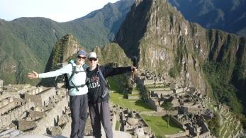 WE MADE IT!!!!! - Machu Picchu
