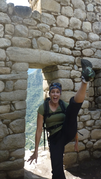 Just kicking it at Machu Picchu