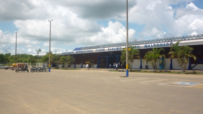 Leaving Puerto Maldonado - The jungle airport